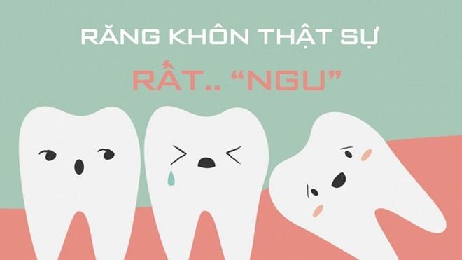 Tư vấn bác sĩ: Nên ăn gì gì khi mọc răng khôn để bớt đau?